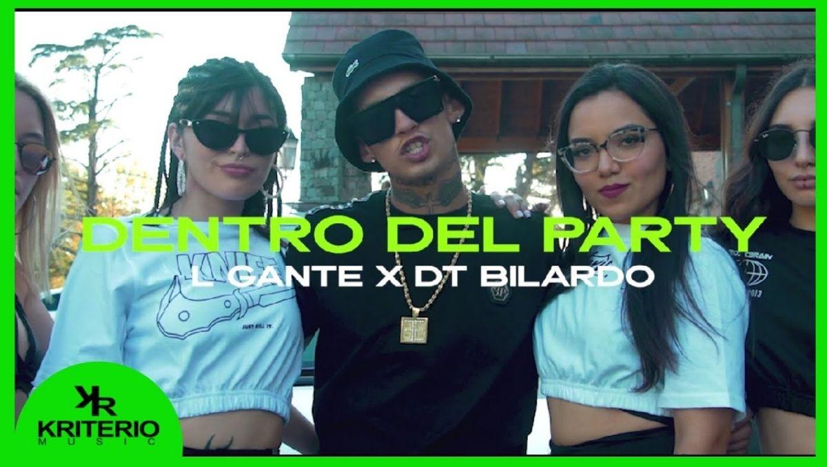 Dentro del Party, track entre L GANTE y DT BILARDO