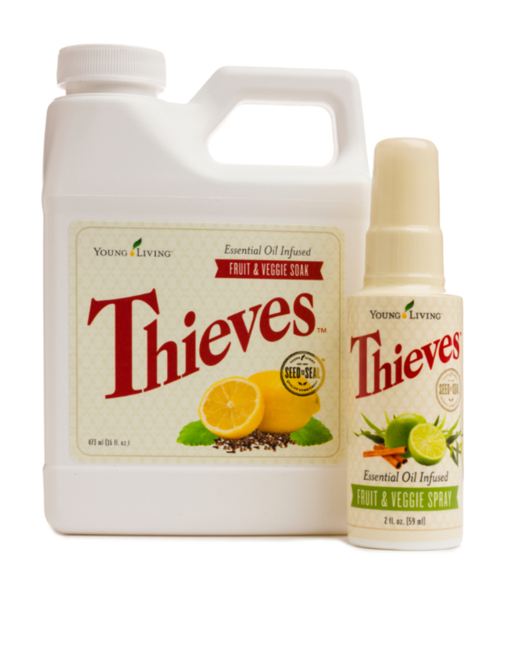 Thieves Fruit & Veggie Soak and Spray