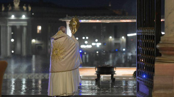 "Full text: Pope Francis' ""Urbi et Orbi"" meditation – Catholic ..."