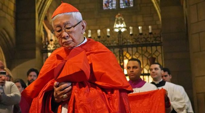 cardinalzen ny2020 Hong Kong, China, Mar 2, 2020 / 11:54 am (CNA).- Cardinal Zen on Sunday responded to the claim of the Dean of the College of Cardinals that Benedict XVI had approved a draft agreement with the Chinese government on bishop nominations. Zen invited the dean to produce archival evidence which he claimed to have seen.
