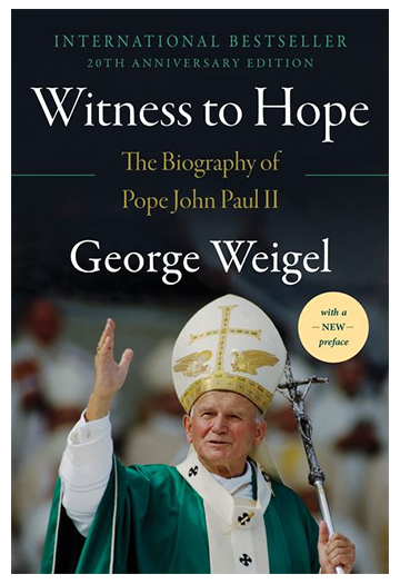 witnesstohope20th Editor's note: The month marks the 100th anniversary of the birth of Pope John Paul II, born Karol Józef Wojtyła on May 18, 1920, in the Polish town of Wadowice. Throughout this month, CWR will be publishing several essays on various aspects of the life and thought of John Paul II. This essay, the first of those pieces, is adapted from the Preface to the 20th anniversary edition of George Weigel's Witness to Hope: The Biography of Pope John Paul II, published by Harper Perennial.
