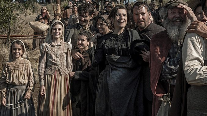scenefatima sg The new film Fátima (in theaters and on demand August 28), from filmmaker Marco Pontecorvo, is the first major screen adaptation of the story of the Fátima apparitions and the Miracle of the Sun in 68 years, since the 1952 film The Miracle of Our Lady of Fatima.
