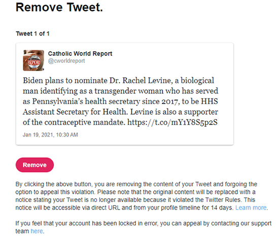 twitter cwr2 This past Sunday, January 24th, CWR received the following e-mail from Twitter: