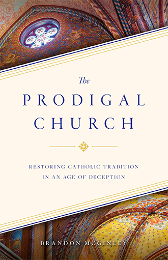 """theprodigalchurch Brandon McGinley has written a book, The Prodigal Church (Sophia Institute Press, 2020), which analyzes what has happened within and to the Catholic Church in recent decades, and how the Church can best respond to the dominant culture. The publisher describes the book as a """"roadmap to renewal,"""" as McGinley provides a thoughtful and in-depth diagnosis of the issues the Church faces today and a prescription for how to meet those challenges."""