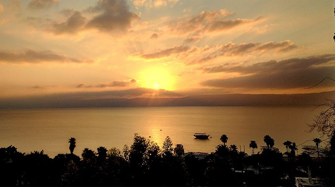 "seaofgalilee ""The Word became flesh, and dwelt among us"" (Jn. 1:14). Having heard it so many times, it may escape our notice that this is one of the most remarkable claims ever made. God became man; the Creator walked among his creation."