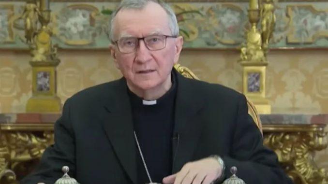 Cardinal Pietro Parolin Vatican City, Apr 15, 2021 / 08:08 am America/Denver (CNA).
