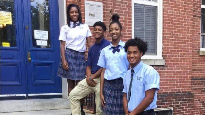 Catholic school students Charleston, S.C., Apr 15, 2021 / 18:01 pm America/Denver (CNA).