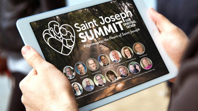 saintjosephsummithd 1 Spirit Filled Hearts Ministry, a Catholic apostolate engaged in evangelism and the promotion of spirituality headquartered in the Diocese of Orange, California, will present a 72-hour Saint Joseph Summit (www.saintjosephsummit.com) virtual conference September 30-October 3, 2021. Featured speakers include Fr. Donald Calloway, Dr. Scott Hahn, Chris Stefanick, Archbishop Salvatore Cordileone, filmmaker James Wahlberg, Fr. Mike Schmitz and Chastity Project founders Jason and Crystalina Evert, as well as dozens of other cardinals, bishops, priests, religious and lay leaders.