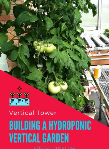 vertical hydroponics tower