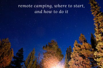 Tent Camping in Wyoming