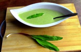 Wild Edibles- Leeks / Ramps / made into Delicious Soup!