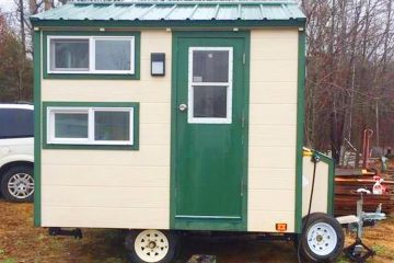 Very Rustic With the Micro Cabin House For Sale | Lovely Tiny House