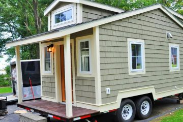 Cozy Dual Lofts 20 ft Tiny House For Sale in Hampton, New Hampshire