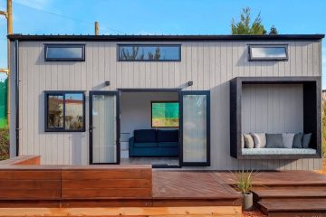 Incredibly Beautiful Pohutukawa Tiny House for Sale by Tiny House Builders