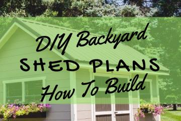 Bacyard Shed Plans