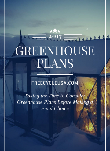 GREENHOUSE PLANS 2017