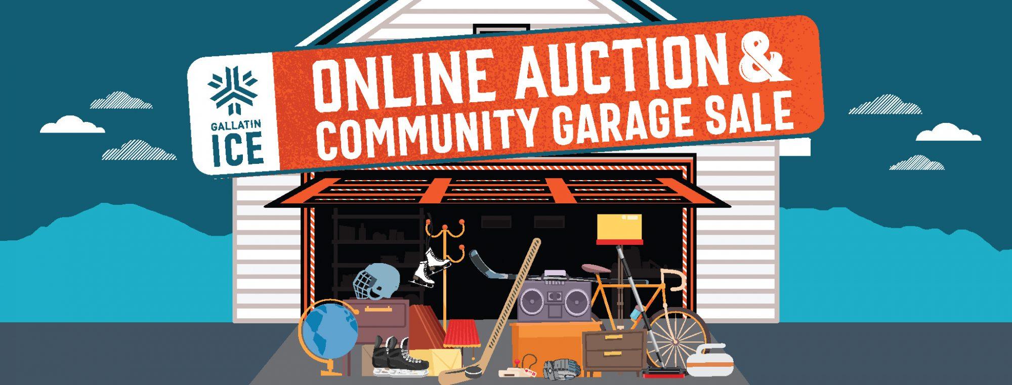 GIF Online Acution Community Garage Sale