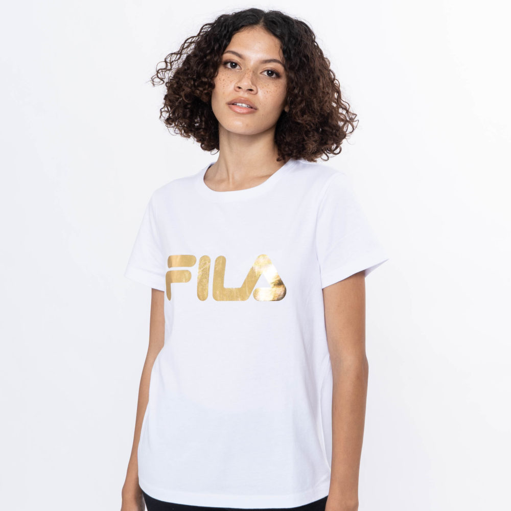 Fila Women's Deckle Gold T-Shirt