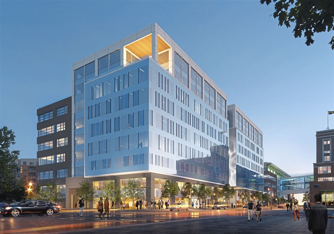 The newest phase of Bakery Square in the Larimar and Shadyside neighborhoods includes a new building where the largest tenant will be Philips Sleep and Respiratory Care.