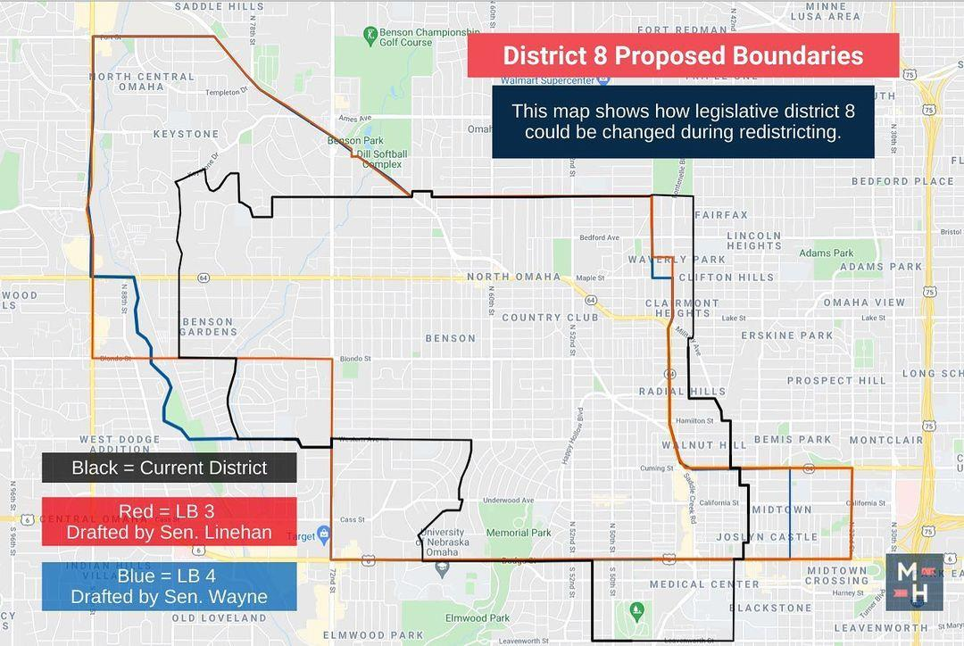District 8, here's how the two Redistricting Committee bills under consideration would affect you. What do you think? I'm eager to hear all of your thoughts about the proposed maps, which can be viewed on the legislature's website.