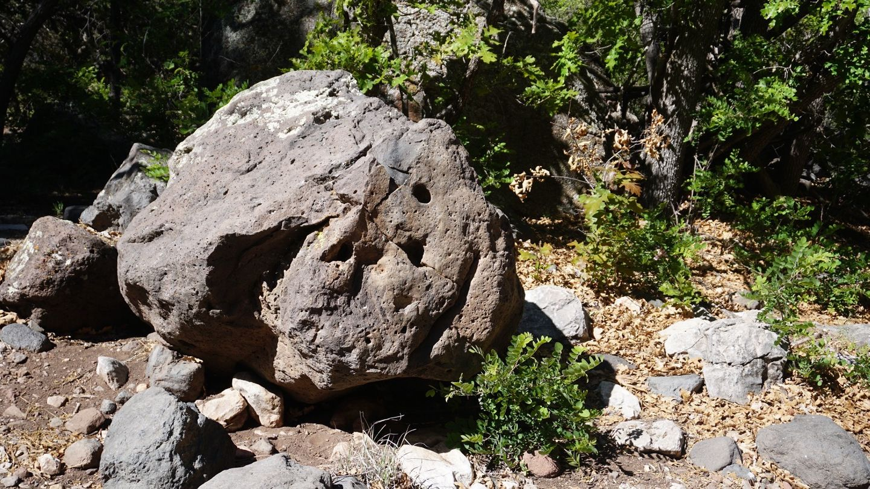 Smiley Rock - Waypoint 9: Smiley Rock