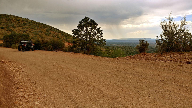Jerome-Perkinsville Road - Waypoint 5: FR 155