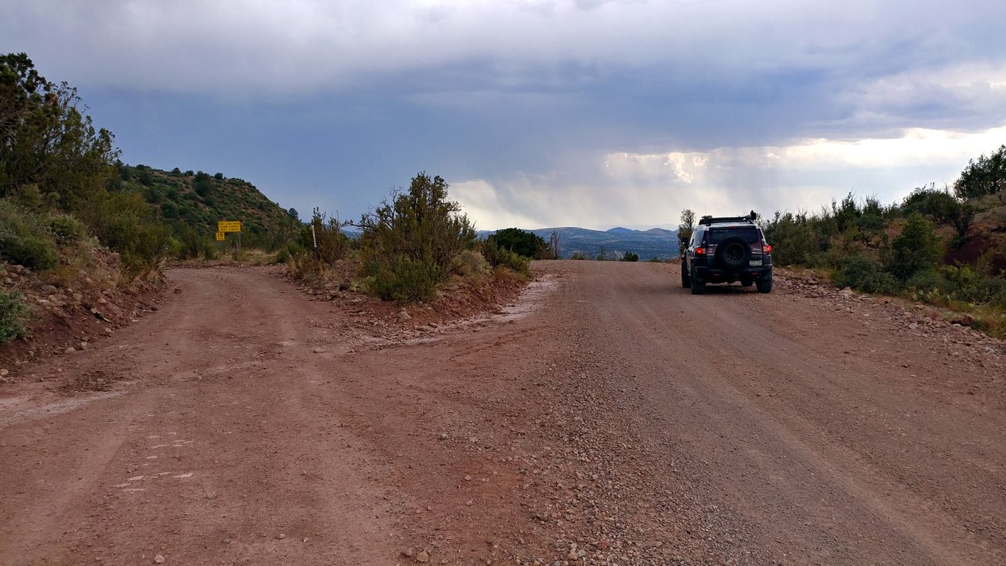 Jerome-Perkinsville Road - Waypoint 6: FR 318A
