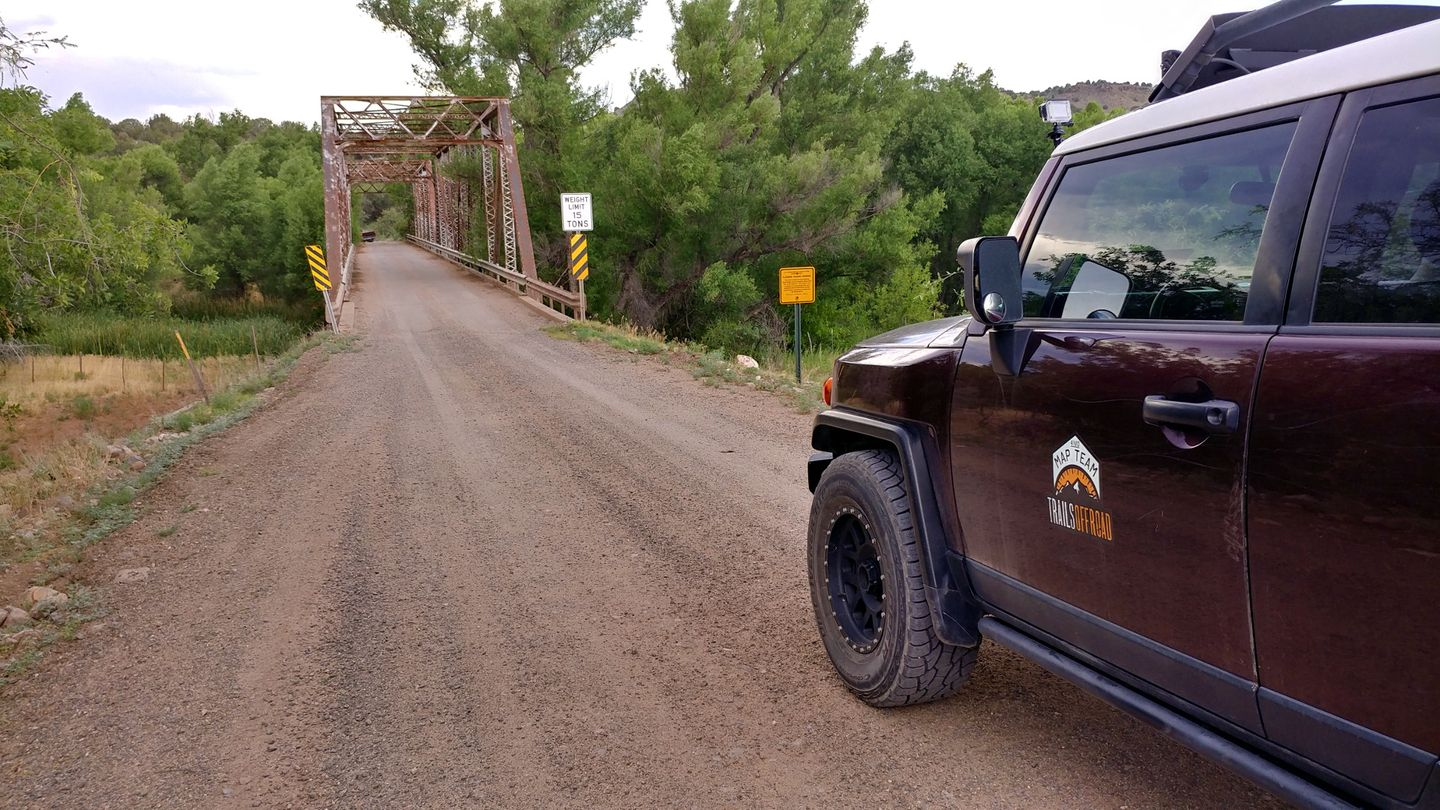 Jerome-Perkinsville Road - Waypoint 11: Verde River Bridge