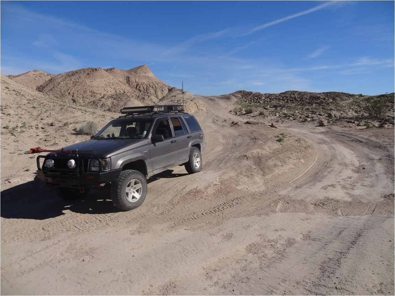 Pumpkin Patch Trail - Ocotillo Wells SVRA - Waypoint 8: Valley of Concretions