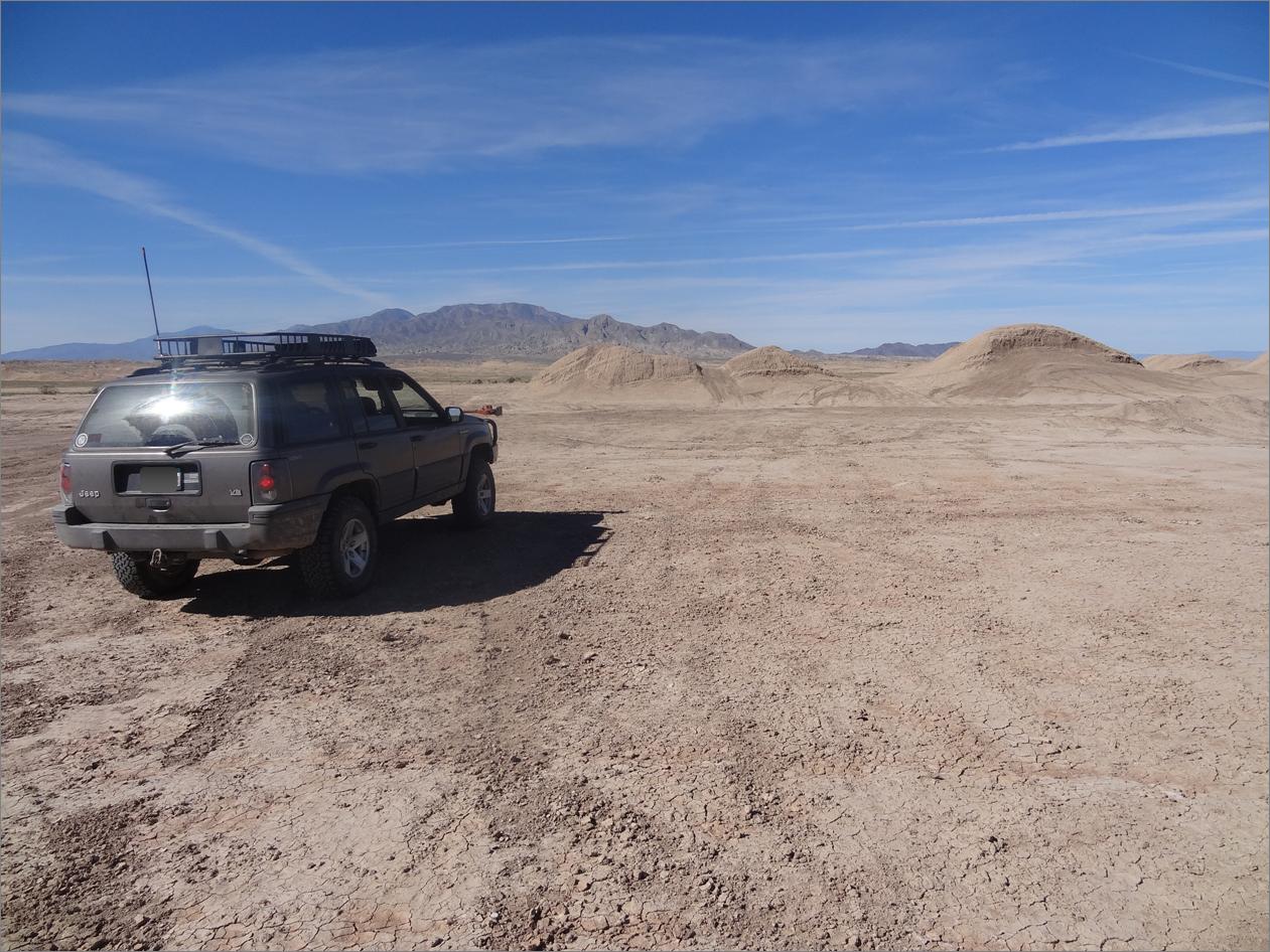 Pumpkin Patch Trail - Ocotillo Wells SVRA - Waypoint 5: Dirt mounds