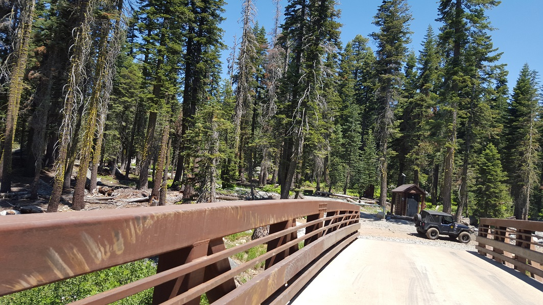 The Rubicon Trail - Waypoint 6: Ellis Creek Bridge (Restroom)