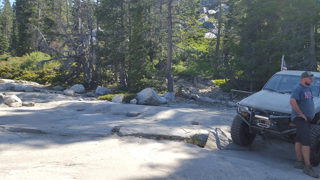 The Rubicon Trail - Waypoint 14: The True Old Sluice (Restroom)