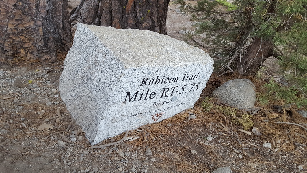 The Rubicon Trail - Waypoint 16: The Big Sluice