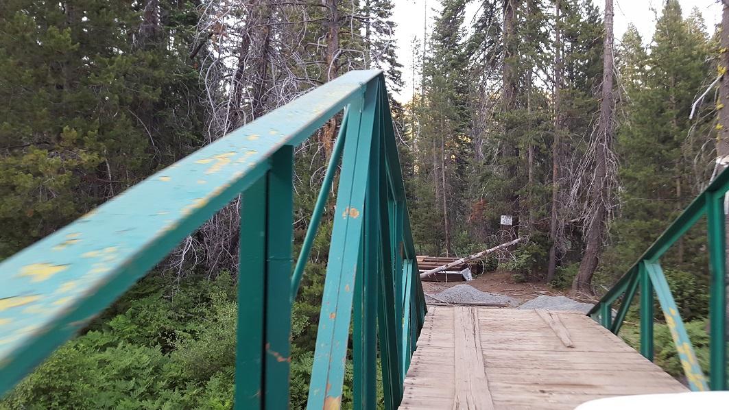 The Rubicon Trail - Waypoint 18: Rubicon Springs Bridge