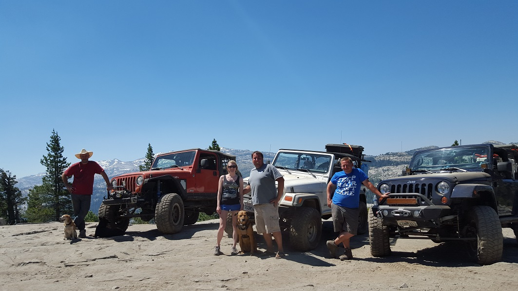 The Rubicon Trail - Waypoint 22: Overlook Observation Point (Camping Spot)
