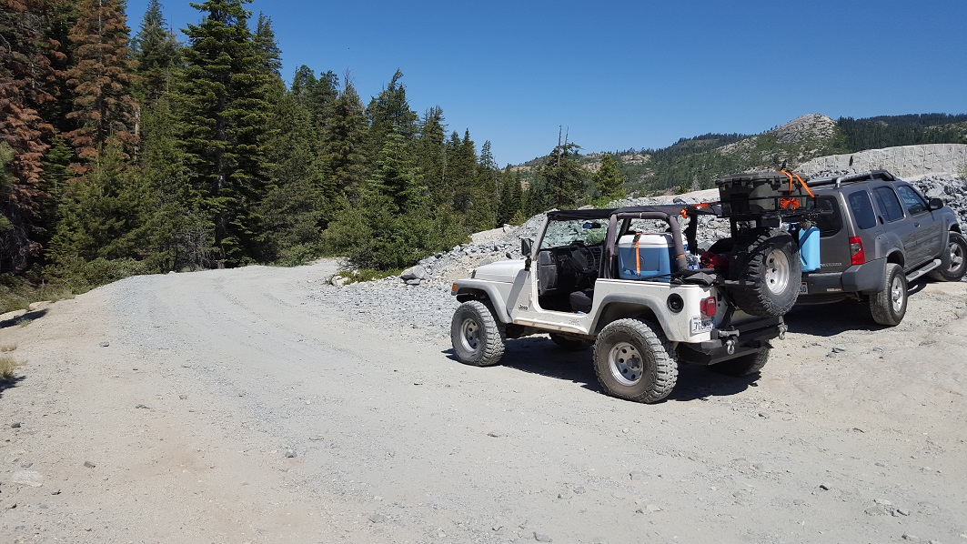 The Rubicon Trail - Waypoint 1: Rubicon Trailhead - Loon Lake (West End)