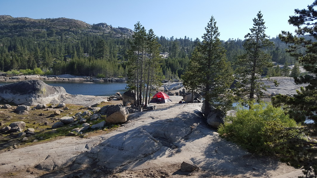 The Rubicon Trail - Waypoint 15: Buck Island Dam and Lake (Restroom)