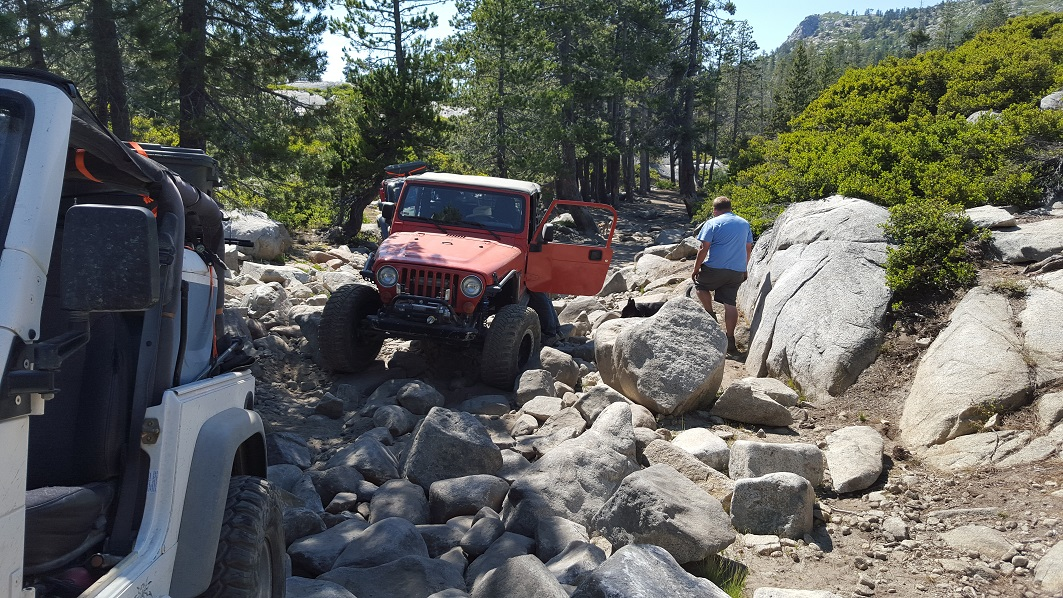 The Rubicon Trail - Waypoint 10: The Little Sluice