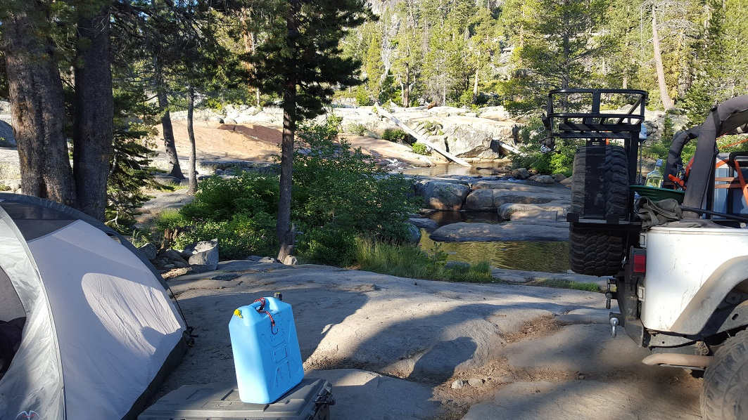 The Rubicon Trail - Waypoint 20: Rubicon Springs Falls (Restrooms)