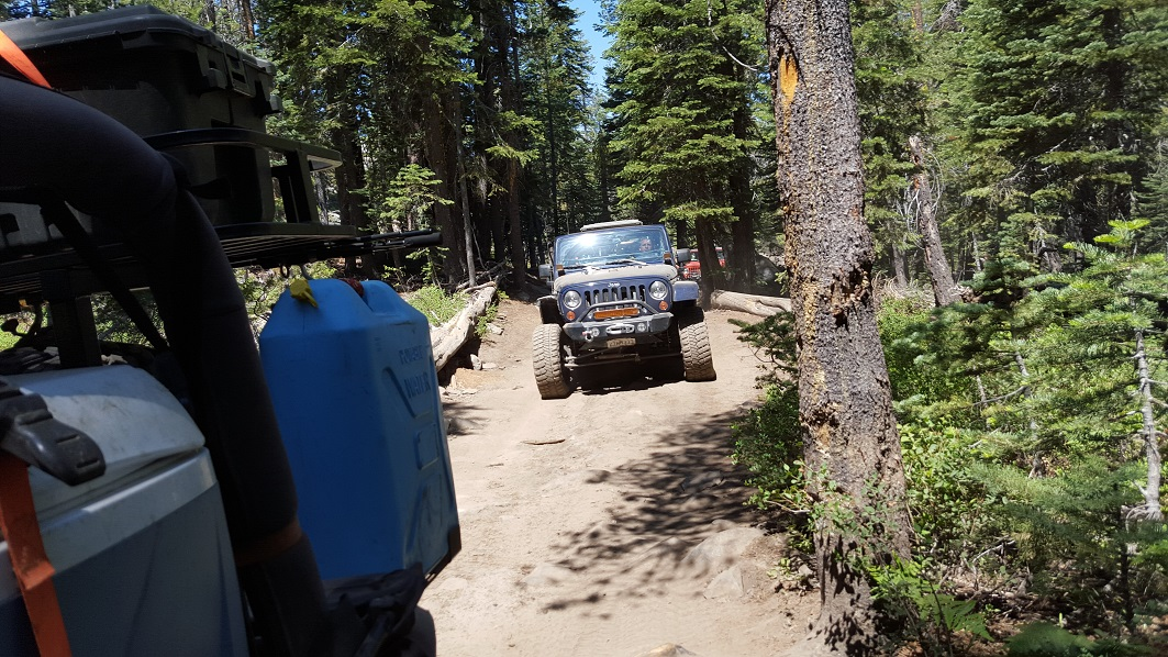The Rubicon Trail - Waypoint 23: Barker Meadow OHV Trail - Stay South