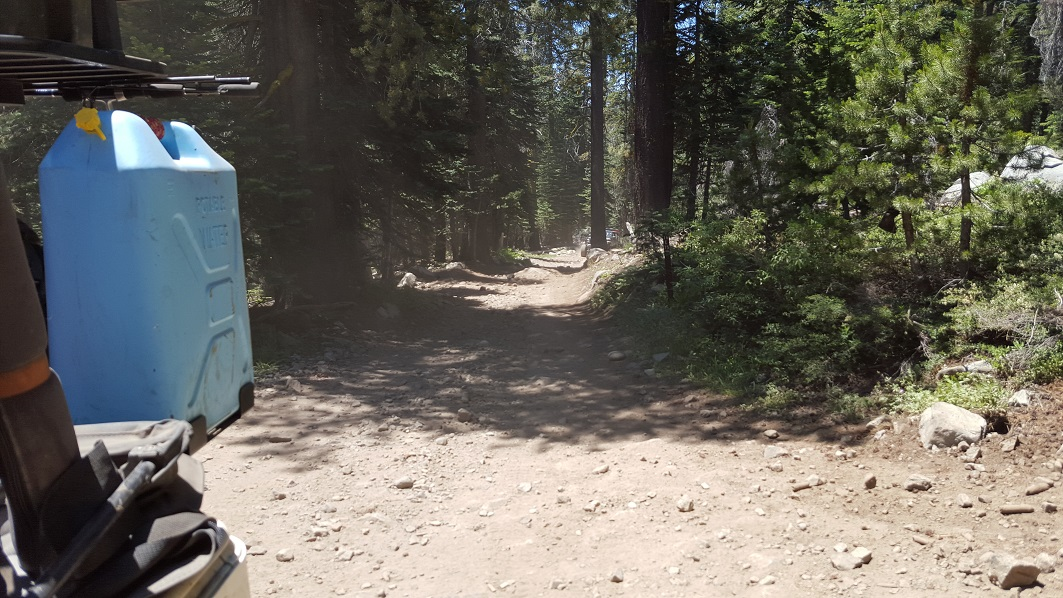The Rubicon Trail - Waypoint 24: Barker Pass or Hwy 89 - Stay East or South