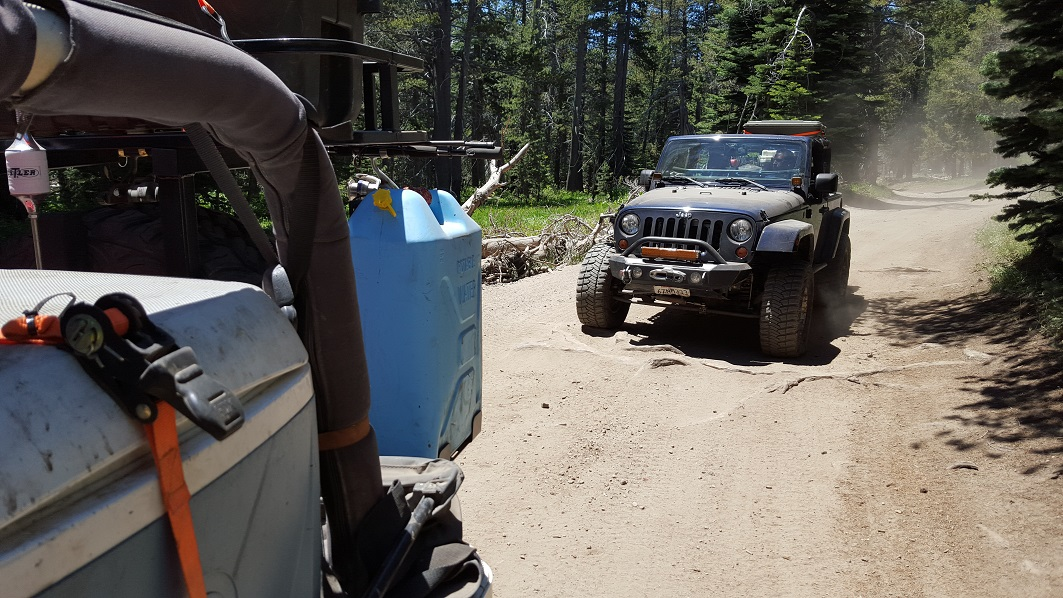 The Rubicon Trail - Waypoint 26: 14N39 - Stay North