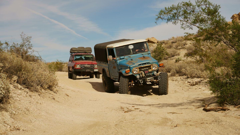 Mojave Road - Waypoint 7: Wash