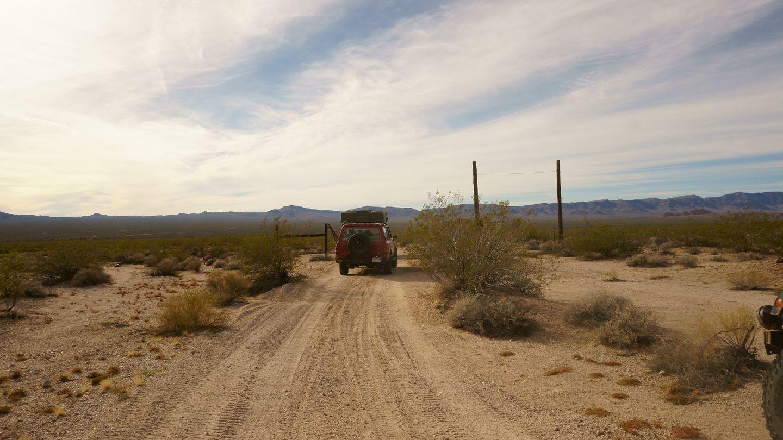 Mojave Road - Waypoint 13: NN 28 - Straight
