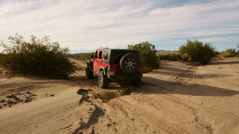 Mojave Road - Waypoint 15: Wash