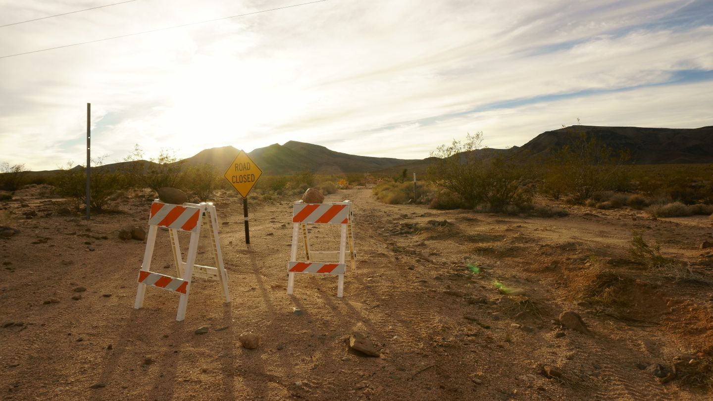 Mojave Road - Waypoint 22: West to Follow Mojave Road/South to Bypass