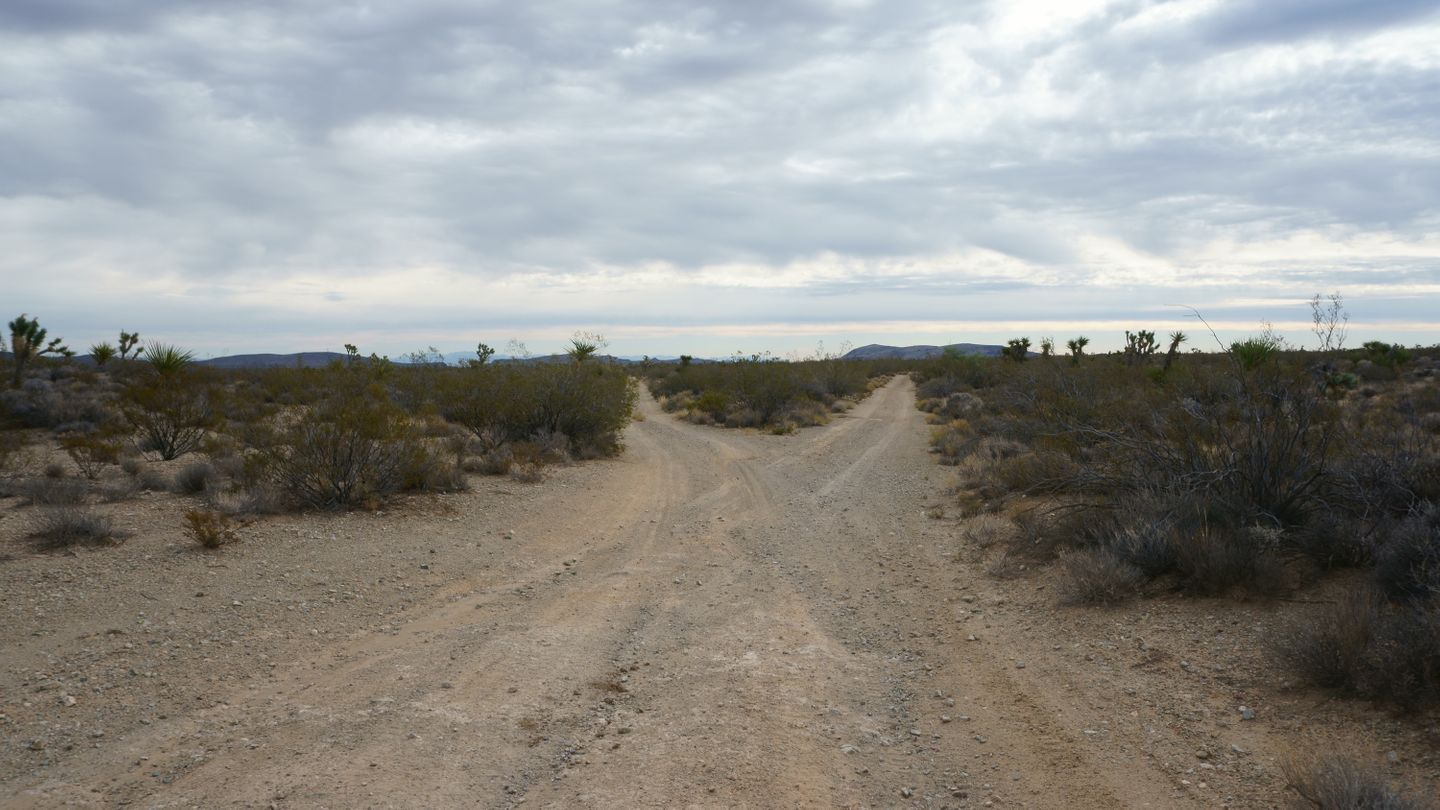 Mojave Road - Waypoint 25: Lower Fork