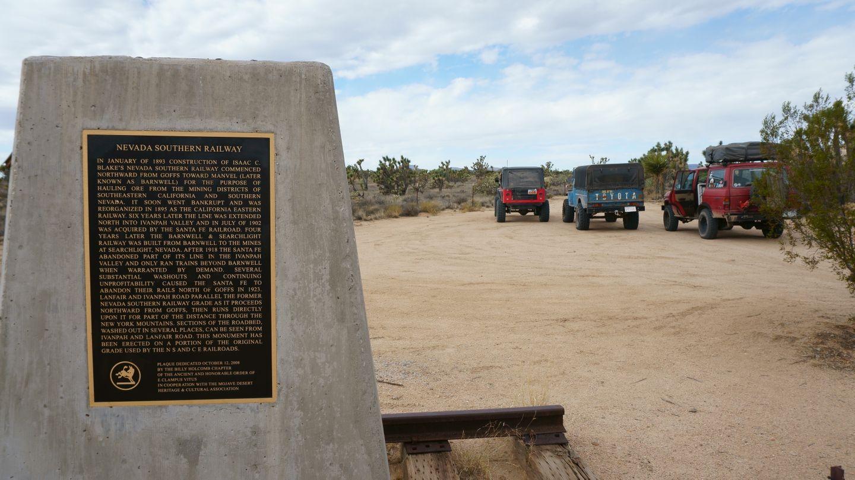 Mojave Road - Waypoint 33: Lanfair Road - Straight