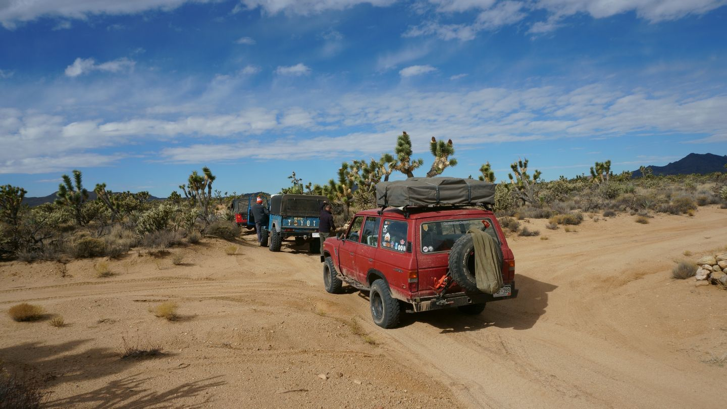 Mojave Road - Waypoint 35: Carruthers Canyon Road