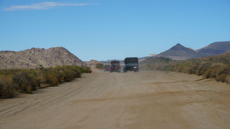 Mojave Road - Waypoint 39: Follow Northwest On Cedar Canyon Road